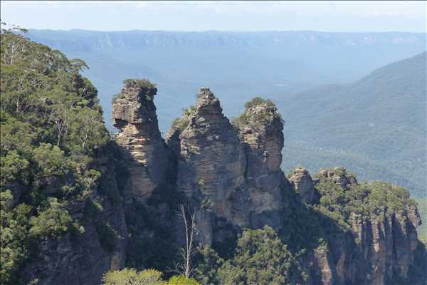 De tre systrarna i Blue Mountains